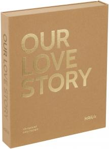 KAILA OUR LOVE STORY Manilla - Coffee Table Photo Album (60 Pages Noires)