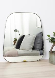 Miroir Trapèze Métal 42x48 cm