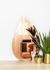 KAILA Miroir Drop Rose Gold 45x70 cm