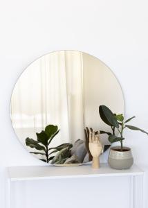 KAILA Miroir rond Dark Bronze 80 cm