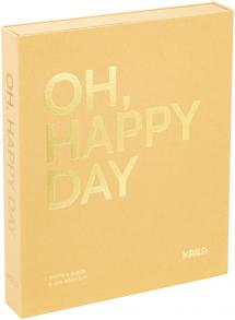 KAILA OH HAPPY DAY Manilla - Coffee Table Photo Album (60 Pages Noires)