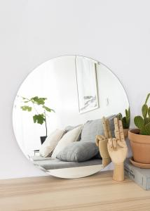 KAILA Miroir rond Deluxe 50 cm Ø