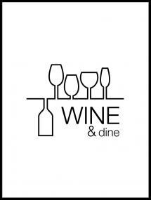 Wine & dine - White