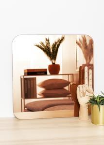 KAILA Miroir Square Rose Gold 40x40 cm