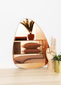 KAILA Miroir Shape I Rose Gold 30x40 cm