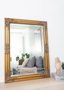 Miroir Bologna Or 50x70 cm