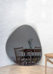 Miroir Shape Big Warm Grey 95x110 cm