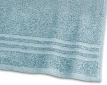 Draps de bain Basic Éponge - Turquoise 90x150 cm