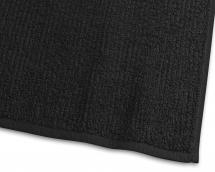 Essuie-main Stripe Éponge - Noir 50x70 cm