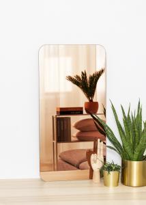 KAILA Miroir Rectangle Rose Gold 40x80 cm
