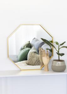 KAILA Miroir Octagon Or 50 cm Ø