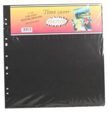 Feuilles d'album Timesaver Géant - 10 feuilles noires