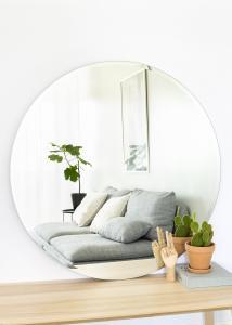 KAILA Miroir rond Deluxe 110 cm Ø