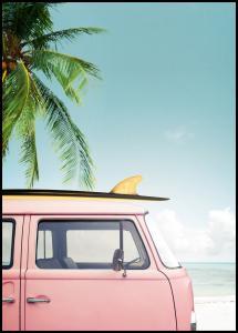 Leisure Trip - Pink Poster