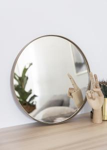 Miroir House Doctor Reflektion Antique Laiton 40 cm Ø