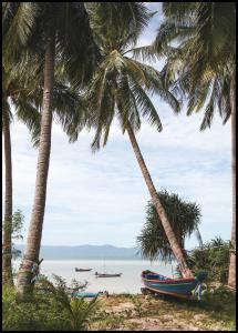 Boats In Thailand Poster
