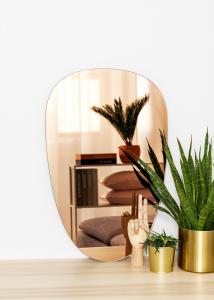 KAILA Miroir Shape II Rose Gold 45x70 cm