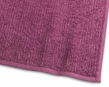 Serviette de bain Stripe Éponge - Lila 65x130 cm