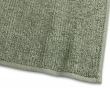 Draps de bain Stripe Éponge - Vert 90x150 cm