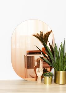 KAILA Miroir Oval Rose Gold 50x70 cm