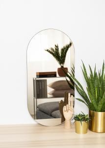 KAILA Miroir Oval Dark Bronze 35x70 cm