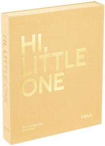 KAILA HI LITTLE ONE Manilla - Coffee Table Photo Album (60 Pages Noires)