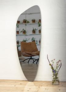 Miroir Slim Warm Grey 160x57 cm