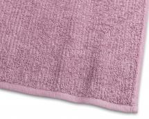 Serviette de bain Stripe Éponge - Nouveau Rose 65x130 cm