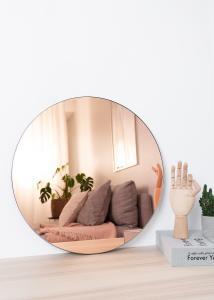 Miroir House Doctor Walls Or Rose 50 cm Ø