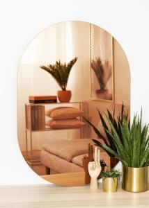 KAILA Miroir Oval Rose Gold 70x100 cm
