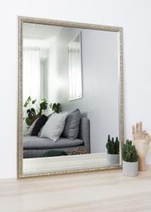 Miroir Nostalgia Argent 50x70 cm