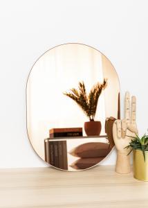 KAILA Miroir Oval Rose Gold 30x40 cm