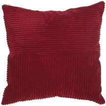 Housse de coussin Isac - Rouge 50x50 cm