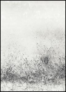 The endless grassfields Poster