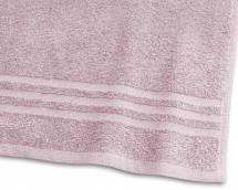 Serviette de bain Basic Éponge - Rose 65x130 cm