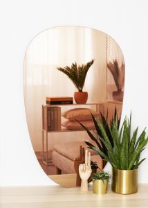KAILA Miroir Shape II Rose Gold 64x100 cm