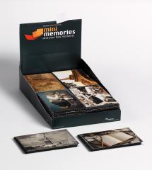 Lot de 36 Mini Memories Album Travel 6 variantes - 40 images en 10x15 cm