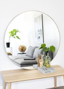 Miroir Vendela Laiton 110 cm Ø