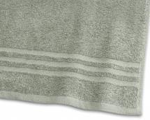 Serviette de bain Basic Éponge - Vert 65x130 cm