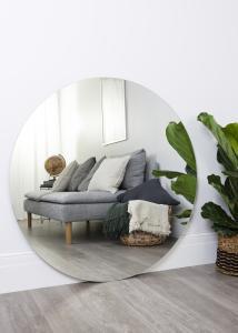 KAILA Miroir rond 110 cm Ø