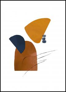 Abstract Shapes I Poster