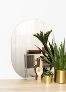 KAILA Miroir Oval Dark Bronze 50x70 cm