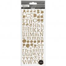 Focus Glitterstickers Or Letters
