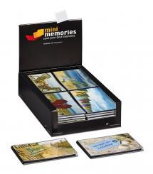 Lot de 36 Mini Memories Album Holiday 6 variantes - 40 images en 10x15 cm -